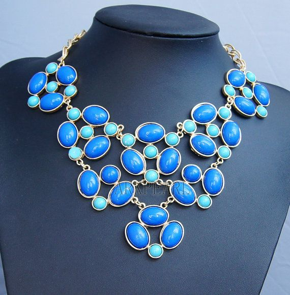 Hey, I found this really awesome Etsy listing at http://www.etsy.com/listing/107244105/blue-bubble-necklacebeadwork