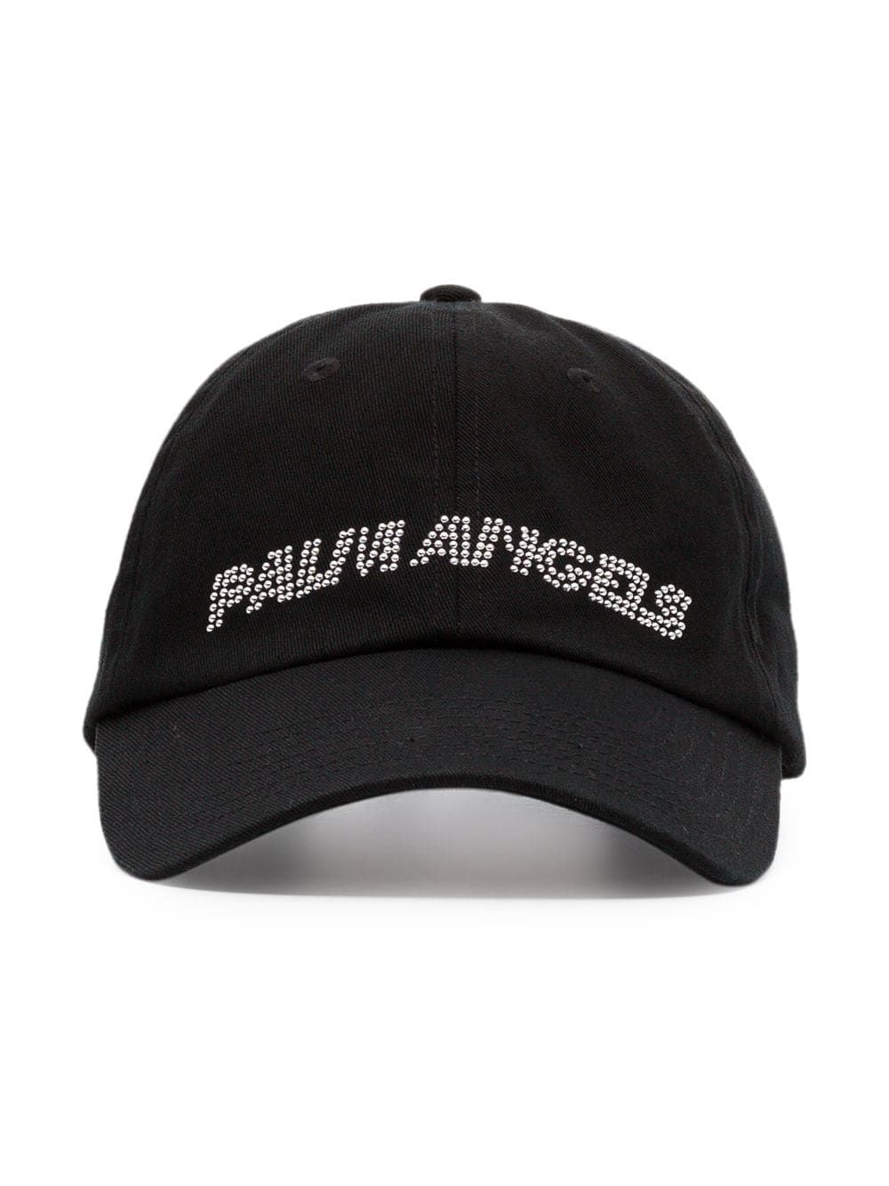 47e47f5bd5d PALM ANGELS PALM ANGELS PRECIOUS LOGO PRINT BASEBALL CAP - BLACK.   palmangels