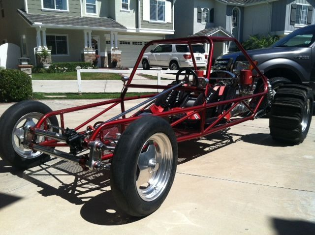 Sand Rail Exhaust : Volkswagen sandrail dune buggy red for sale in