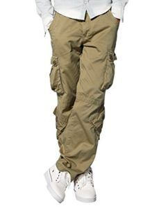 Mens Cargo Pants Work Shorts Black Navy Khaki Green Summer Casual Combat Chinos