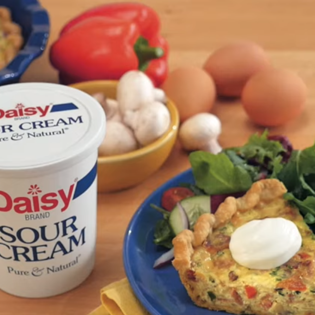 Daisy Quiche Daisy Brand Sour Cream Cottage Cheese In 2020 Daisy Sour Cream Creamed Cottage Sour Cream