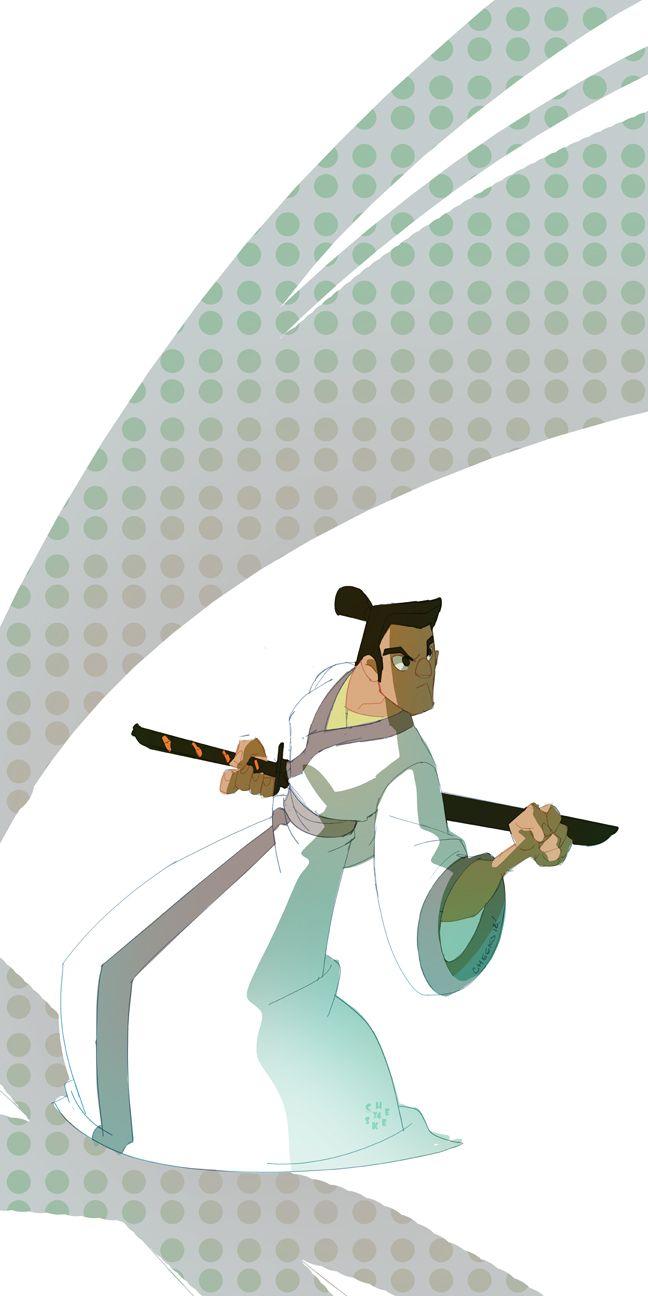 Samurai Jack Cartoon Network 90 S Classic Desenhos Para