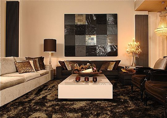 Eric Kuster Something like this with different sized furniture and a ...