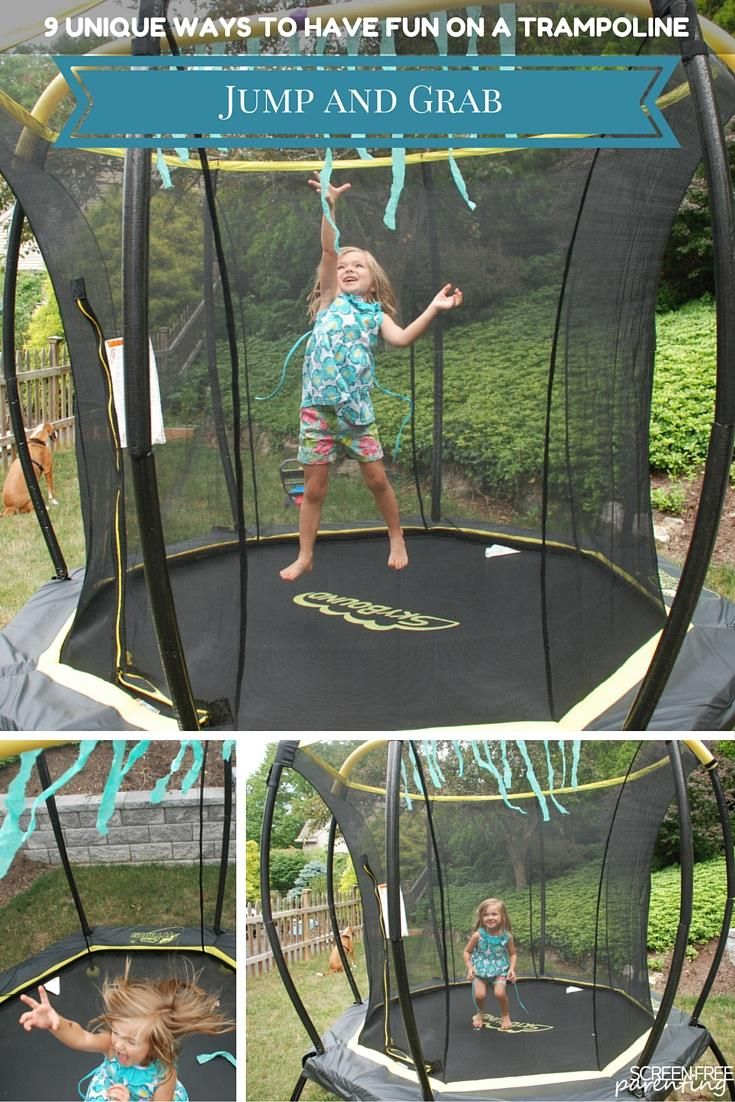 9 Unique Ways to Have Fun on a Trampoline This Summer