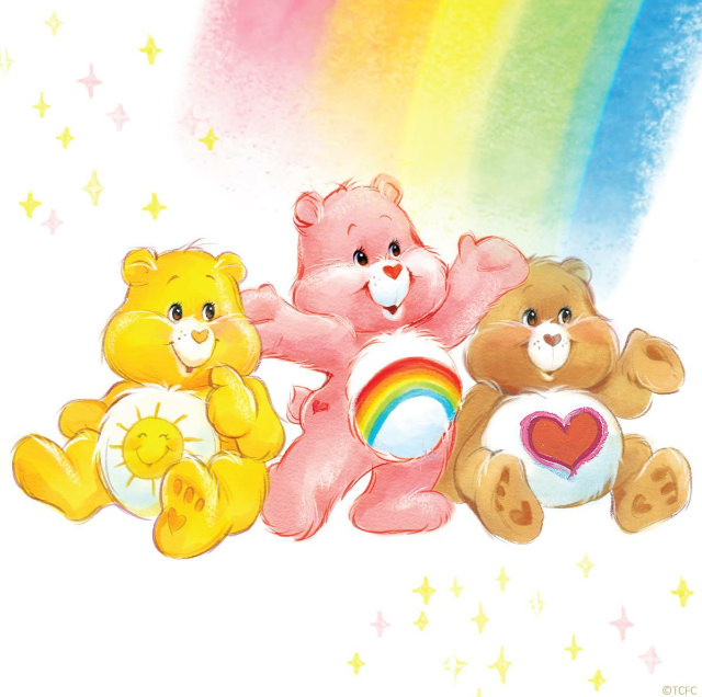 Yes It S Great To Be In That Care Bear Family Care Bears Vintage Care Bears Care Bear Party