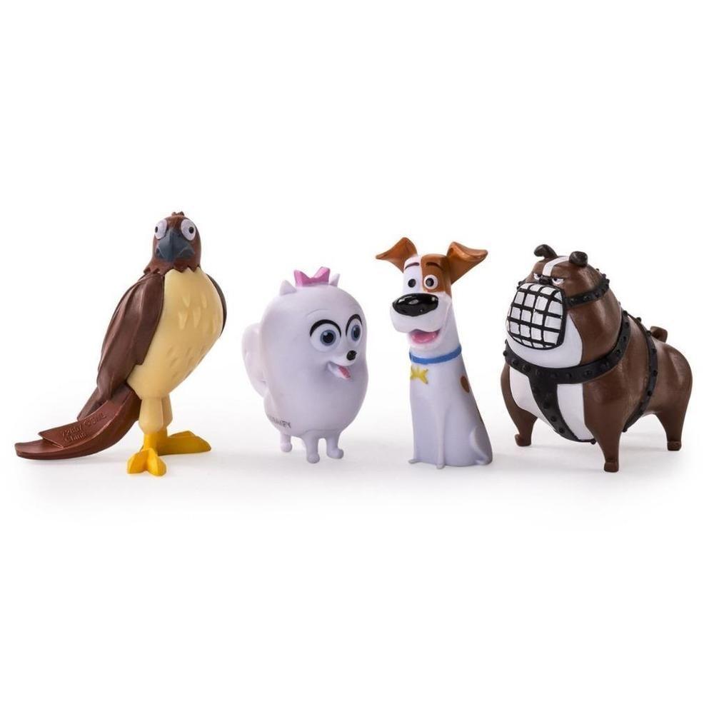 The Secret Life Of Pets 4 Pack Mini Pet Figures Gidget Max Ripper