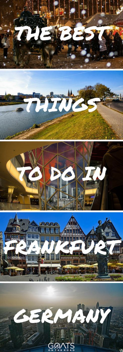 12 Things To Do In Frankfurt A Local S Guide Germany Germany