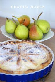 crafto-mania: Hruškový koláč / Pear Pie