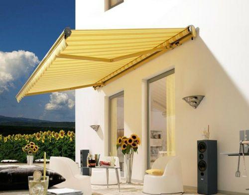 Coole Balkon Möbel Ideen \u2013 15 praktische Tipps für eine schöne - markisen fur balkon design ideen