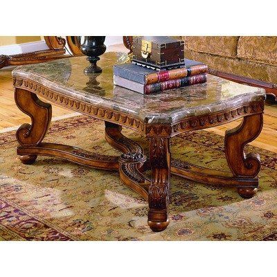 5543 series marble top coffee table by woodbridge home - Woodbridge home designs avalon coffee table ...