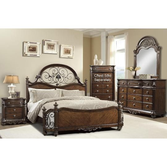Davis International 4 Piece Cal-King Bedroom Set | King ...