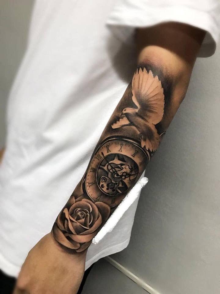 Pin by typicalt on tattoo ideas forearm tattoos tattoos - Mangas de tattoo ...