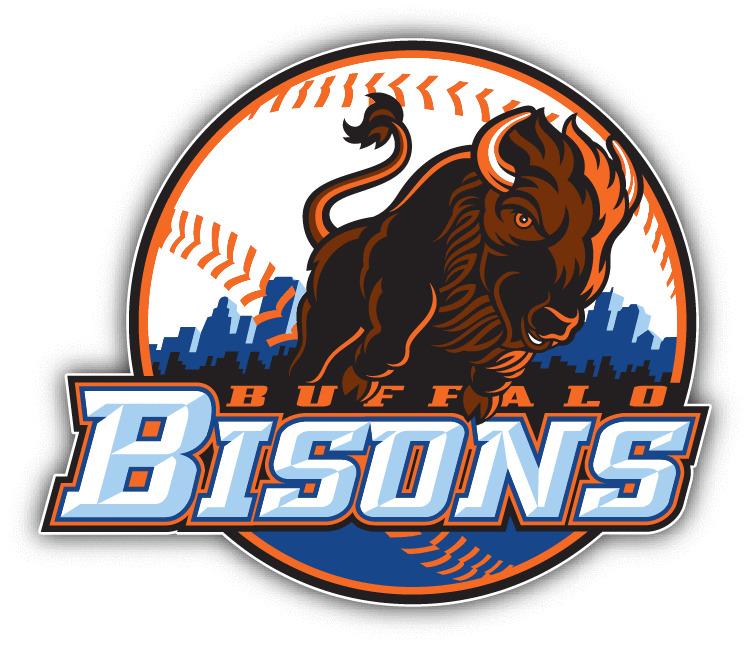 3.24 Buffalo Bisons Milb Minor Baseball Mlb Car Bumper