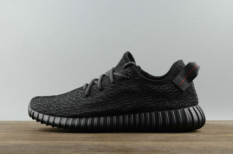 de5d3519520 Official Adidas Yeezy Boost 350 Pirate Black Noir BB5350 Youth Big Boys  Sneakers