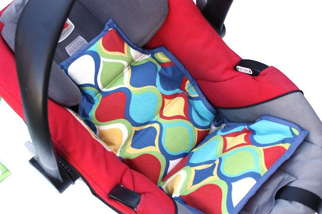 keep your kids cool in the car make a diy car seat cooler inside there are ice packs so it. Black Bedroom Furniture Sets. Home Design Ideas