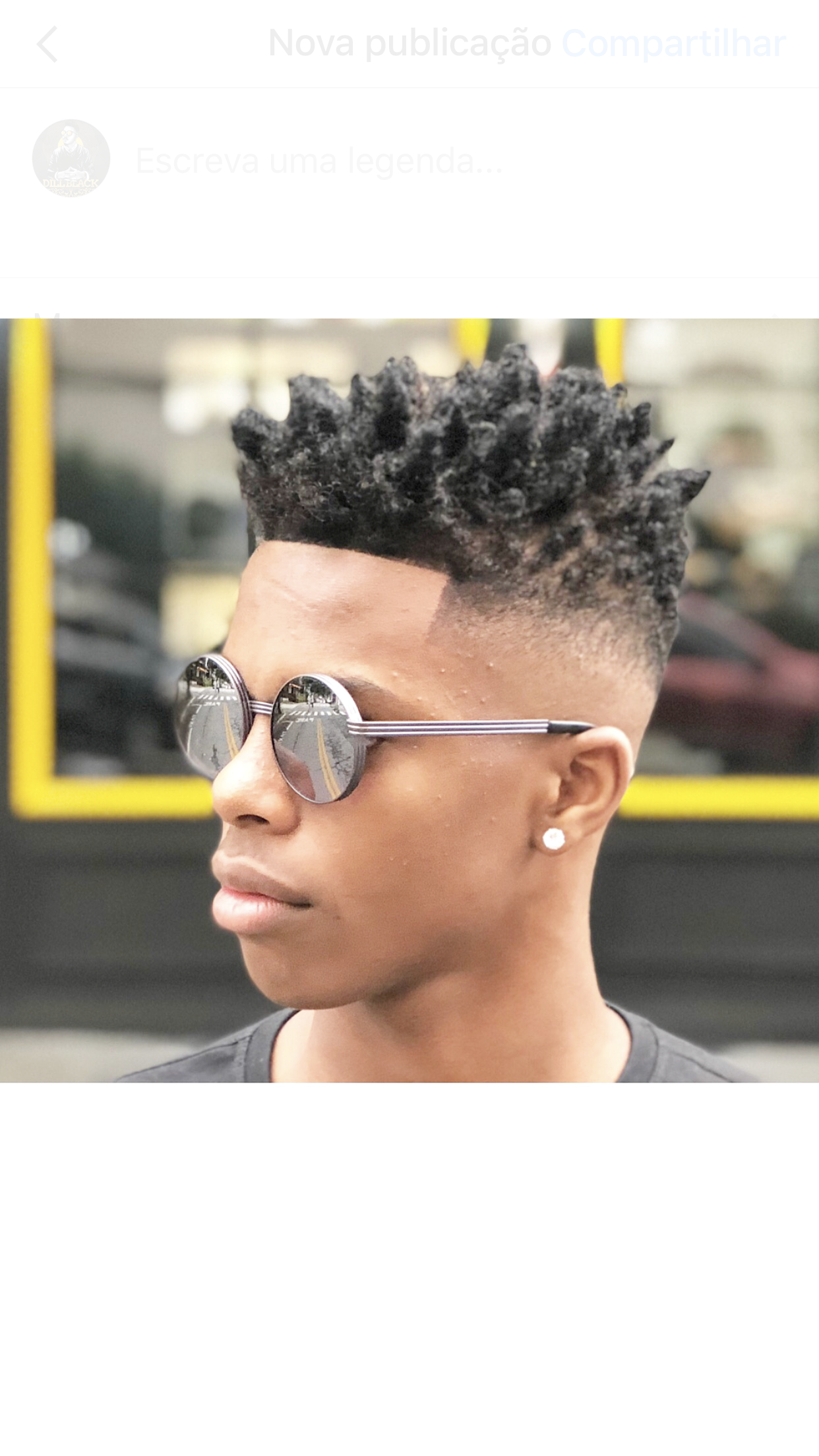 Corte moderno afro hair pinterest haircuts dreads and black