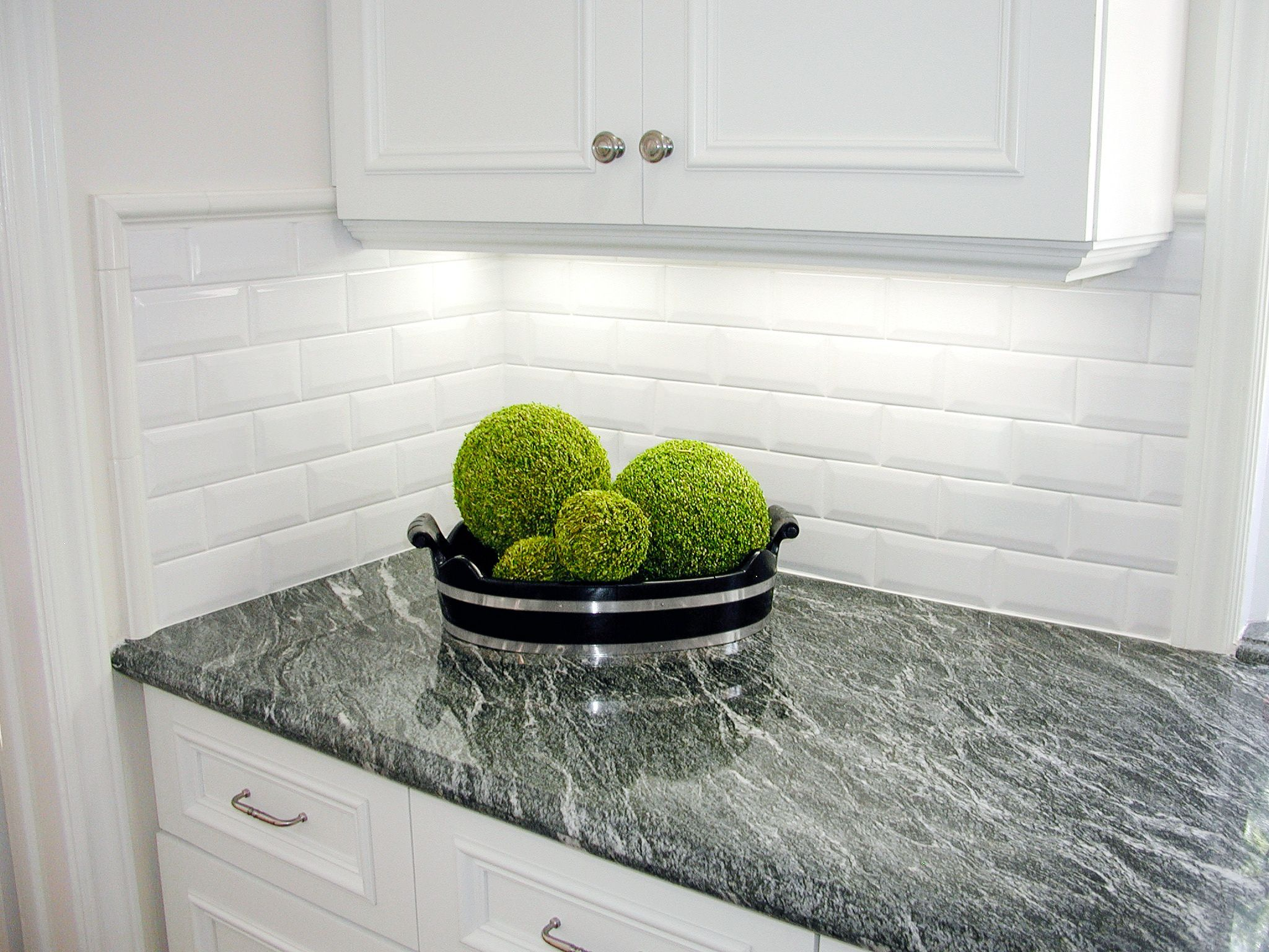 Home accessories kitchen subway tiles beveled subway