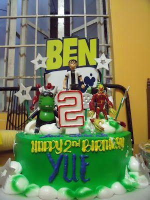 Ben 10 birthday cake!  The Rebel Sweetheart.: Foodie Goodie | Meeska, Mooska, Mickey Mouse!