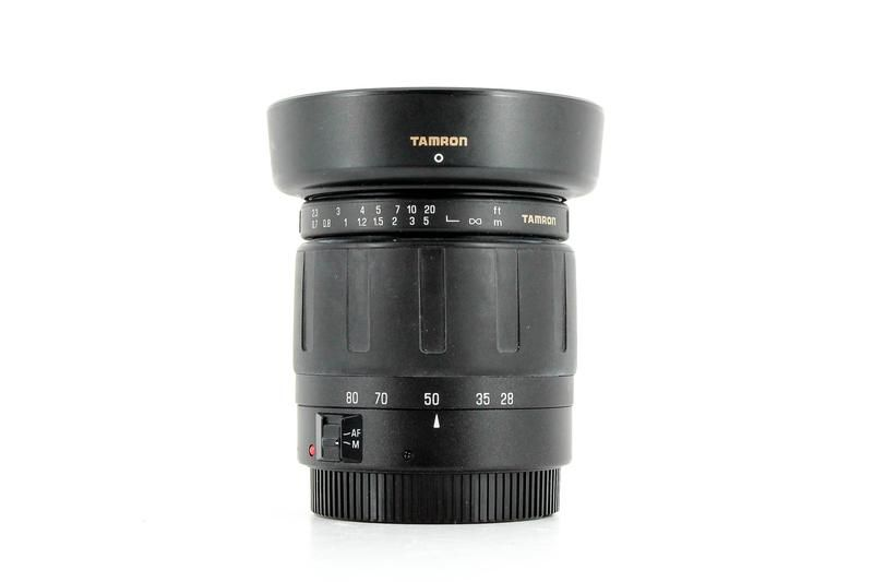 Used Tamron Af 28 80mm F 3 5 5 6 Aspherical Canon Ef Fit Used Lenses Canon Ef Lit Cosmetics