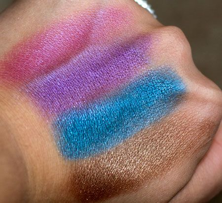 LA Colors Baked Eyeshadow quad in Neptune