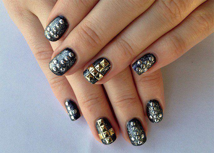 68 Trends Gel Glamorous NYE Nail Ideas   Nail art videos, Acrylic ...