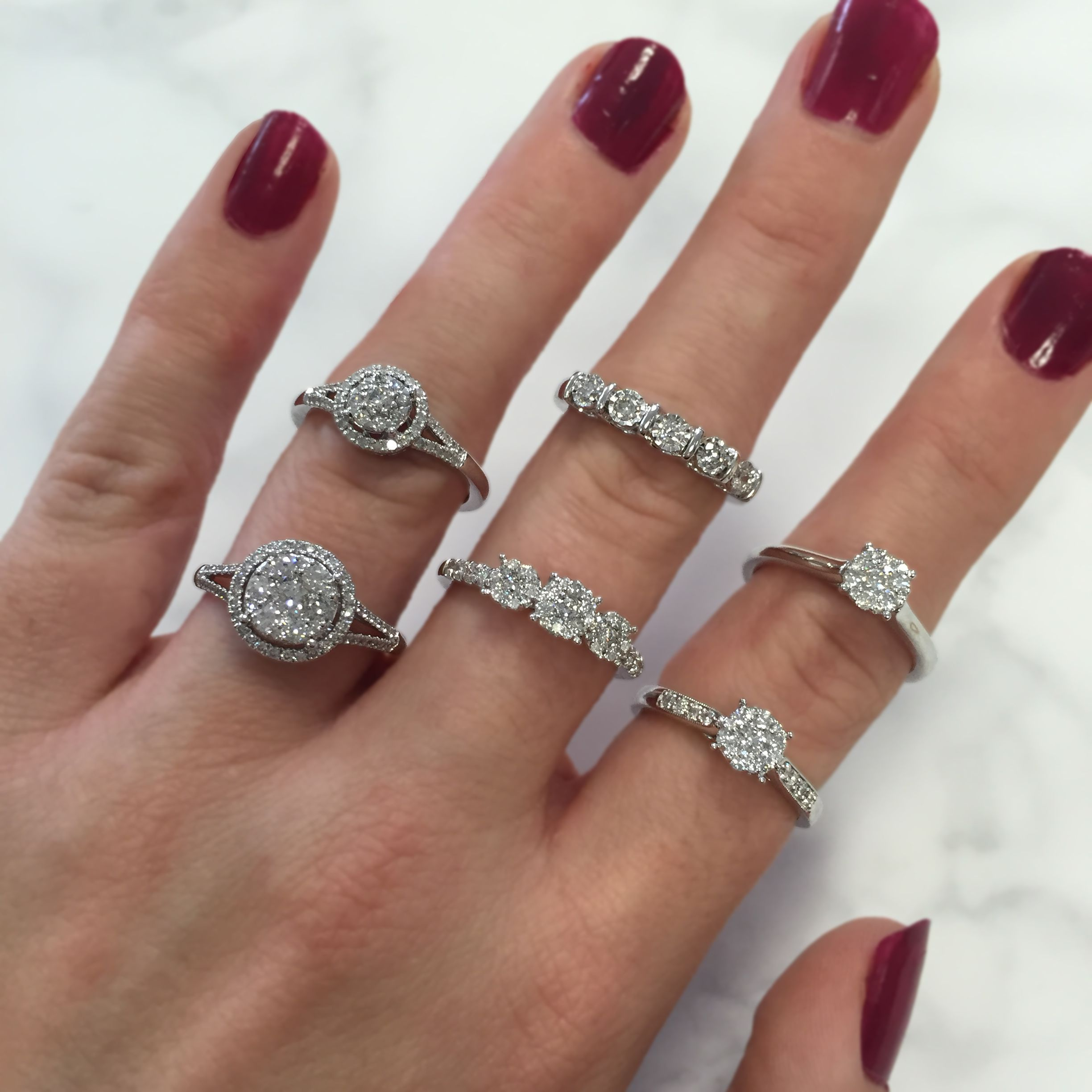 50+ Stacked wedding rings halo ideas