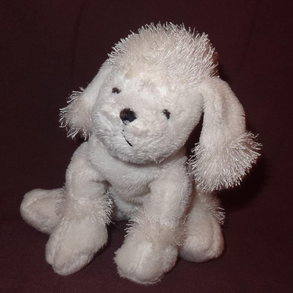Dog White Poodle Webkinz No Code Ganz Plush Stuffed Animal 5 Toy