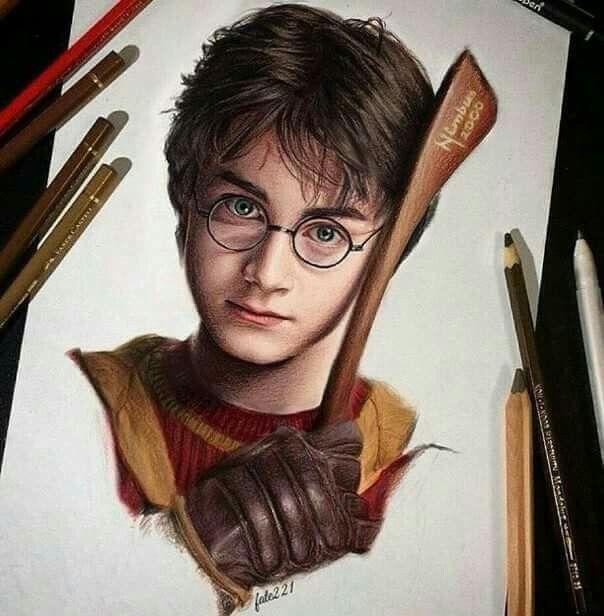 Colored Pencil Goals Harry Potter Colors Harry Potter Artwork