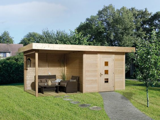 gartenhaus edgar 3 28 mm naturbelassen pinterest weka gartenhaus anbau und stabil. Black Bedroom Furniture Sets. Home Design Ideas
