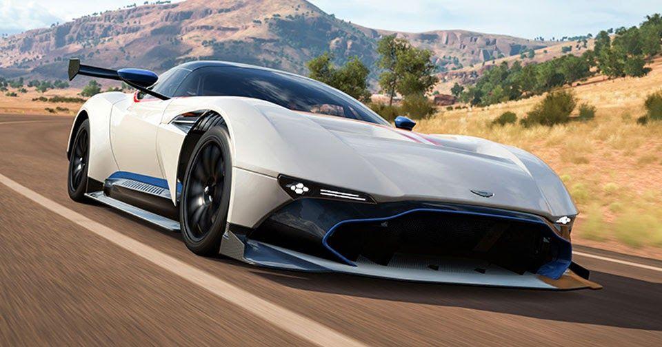 Aston Vulcan Pagani Huayra Bc Gta Spano Join Forza Horizon 3 Carscoops Aston Vulcan Forza Horizon 3 Forza Horizon