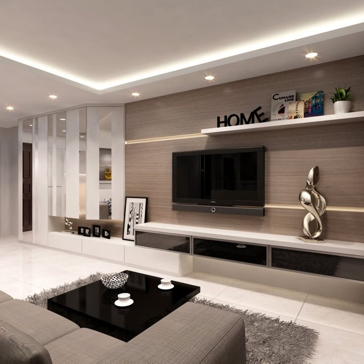 Choosing The Right Modern House Plans For Designing Your: Pin On TV UNIT DESIGN