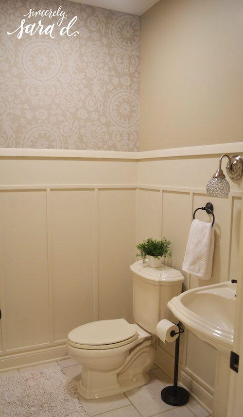 Bathroom Wall Paneling | Bathroom wall panels, Walls and Master ...