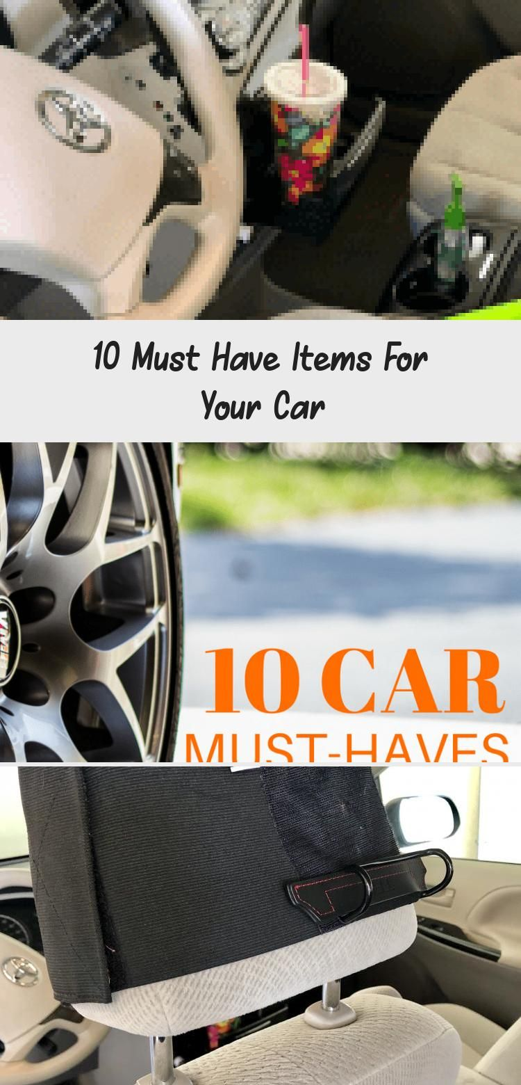 We spend a lot of time in our car for car pool, travel and road trips.  There are 10 must have items and accessories for your car.  #roadtrip #car #caraccessories #carpool #carsMovie #carsLogo #Smallcars #Bmwcars #carsDrawing