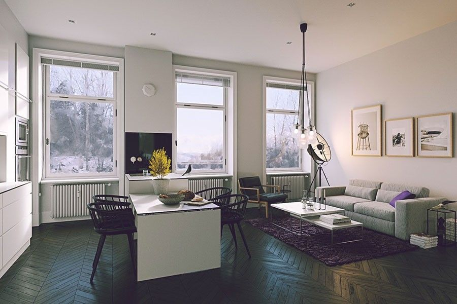 Pin di Kirsten Johnson su casa nova | Design della sala da ...