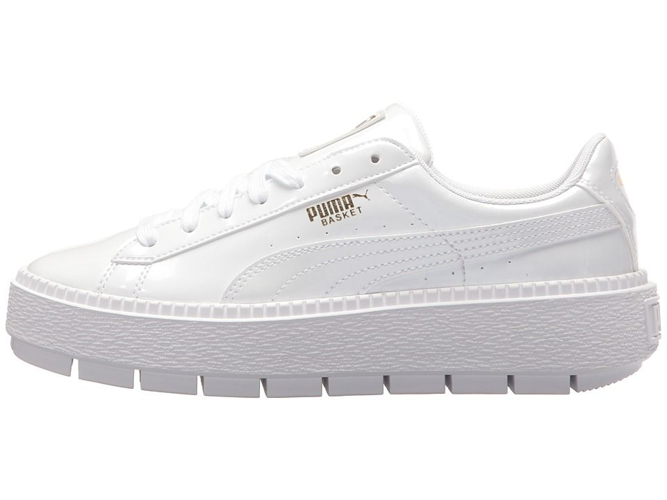 PUMA Basket Platform Trace P Women s Shoes PUMA White  133900bec