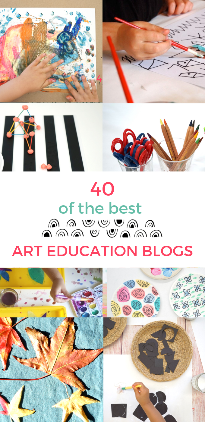 40 Inspiring And Useful Art Education Blogs Tinkerlab In 2020 Art Education Education Blog Education