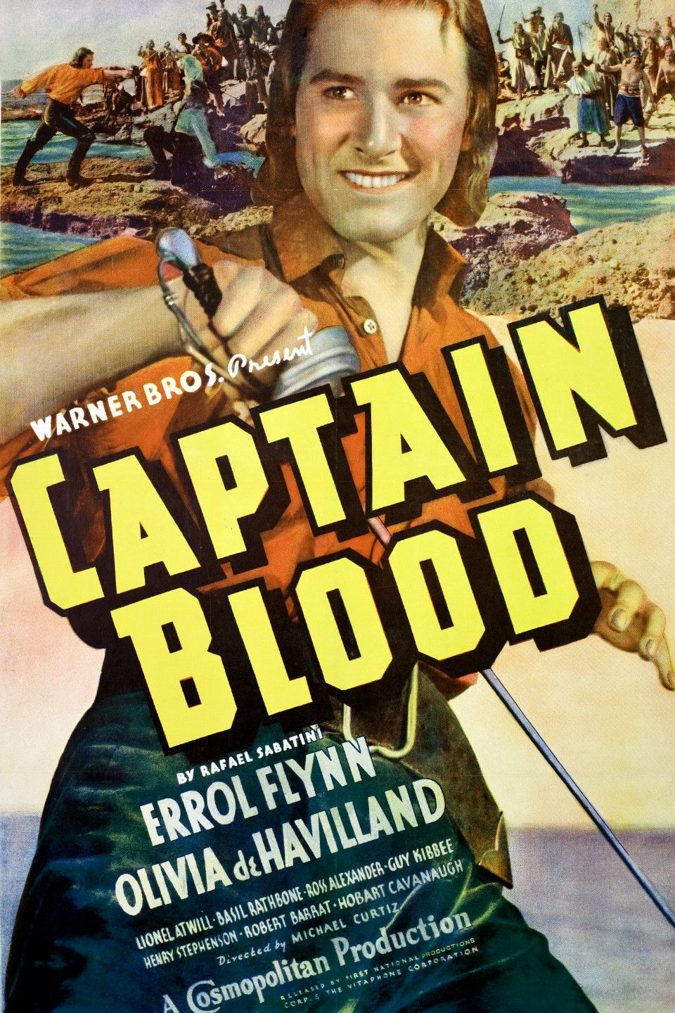 Captain Blood (1935). This is the story of Dr. Peter Blood, and English surgeon who is sold into slavery in the West Indies after treating the leader of the rebellion … Continue Reading →