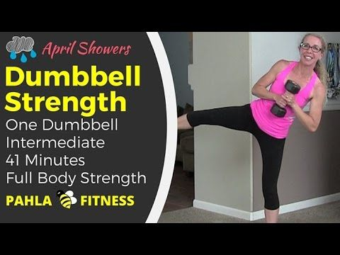 Sweaty STRENGTH Circuit   Intense Full Body DUMBBELL Workout   YouTube