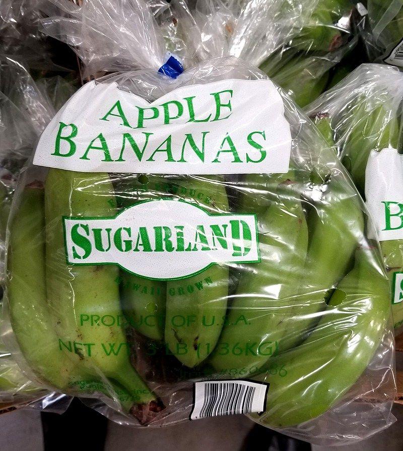 860686 Apple Banana 3 Lb Bag 4 79 1 597 Lb Hawaii Food Eat