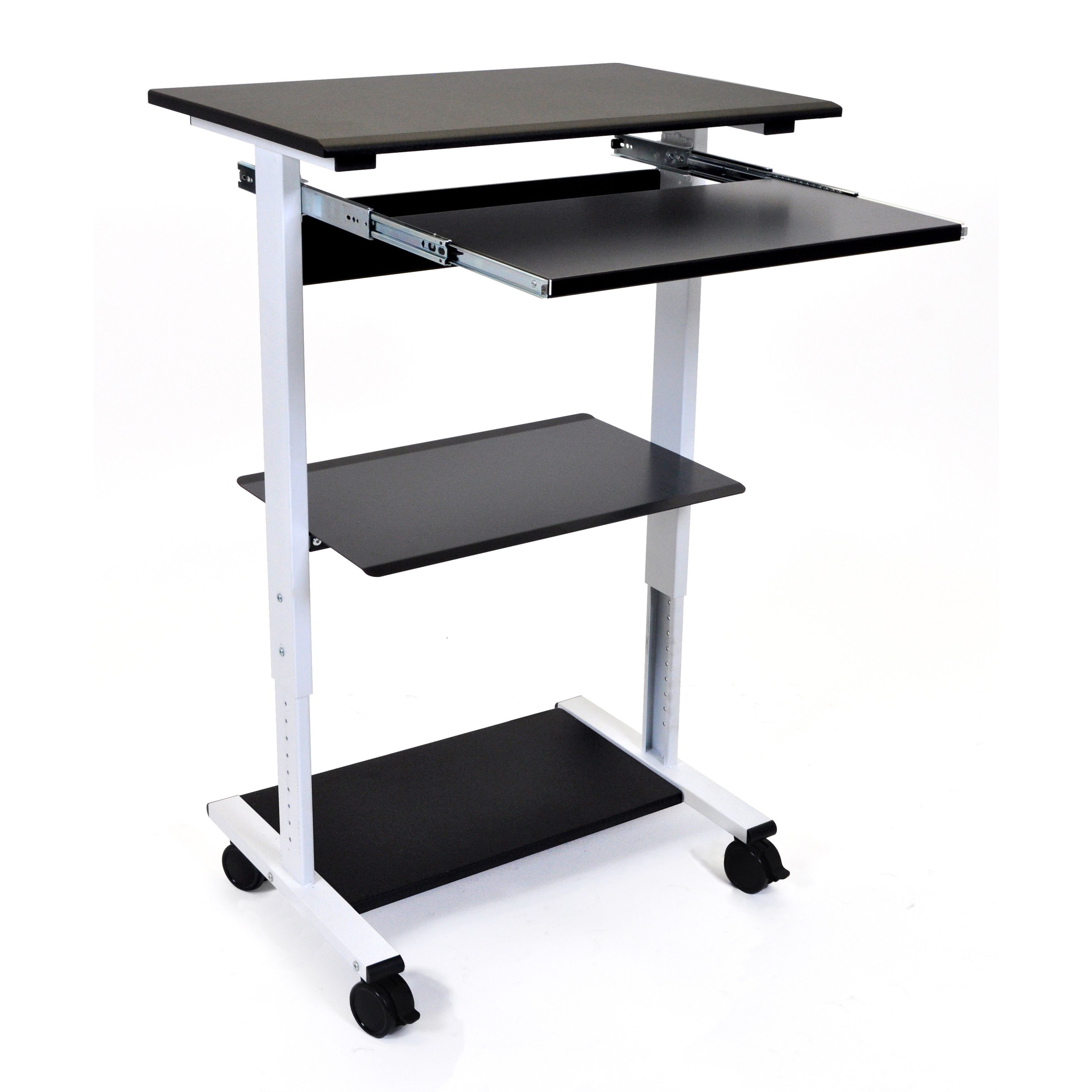 laptop table desk and up computer large standing workstation height convertible full size of movable best adjustable attachment sit affordable office stand