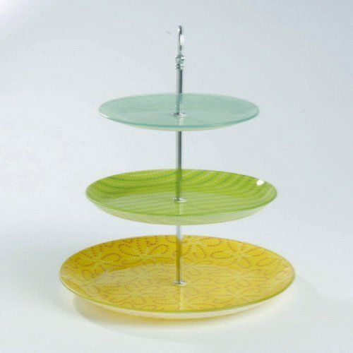 TAG 3-tier Glass Plate Stand by TAG. $39.95. medium plate 9.75 & TAG 3-tier Glass Plate Stand by TAG. $39.95. medium plate: 9.75