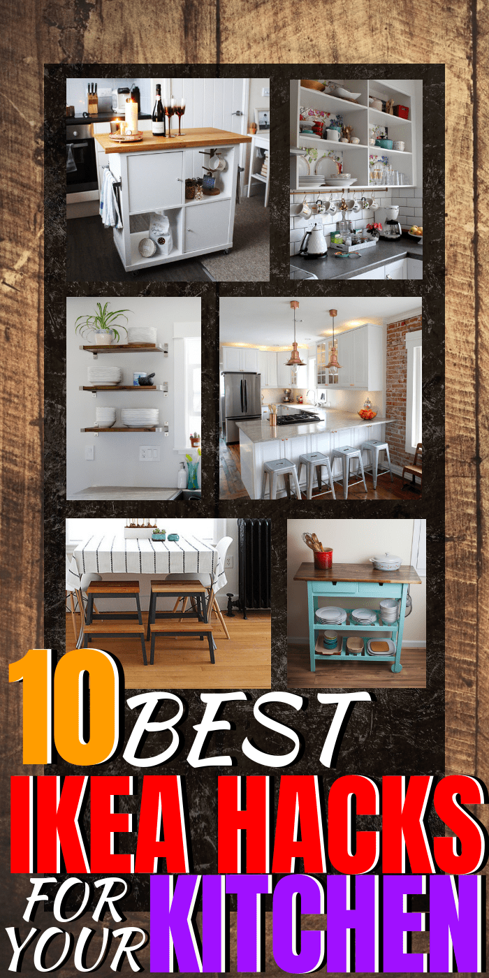 10 of the best ikea hacks for your kitchen home decor on a budget kitchen ideas homedecor ikeahacks ikeahack via themummyfront com