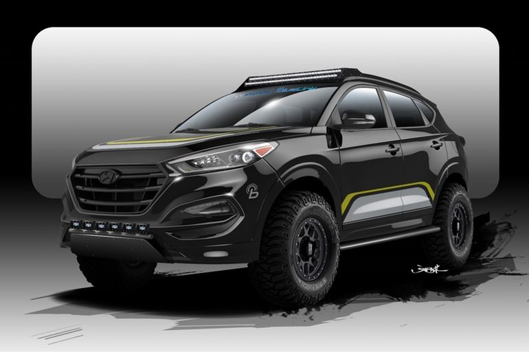 Hyundai And Rockstar Give The Tucson Crossover Off Road Chops