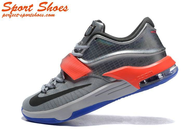 huge discount c9960 fa47f Kevin Durant 7(VII) Online Store Blue Orange Silver All Star Man Sneakers