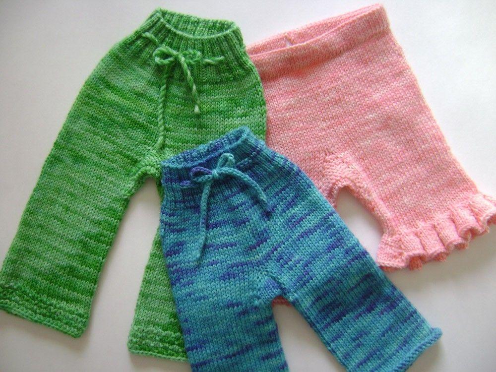 Daisyhead Delight Pattern Knit Wool Soaker Pattern Knit Longies