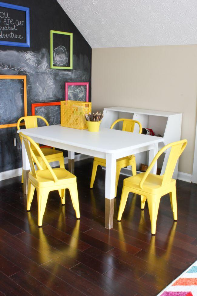 DIY Kids Art Table | Imaginación, Inspiración y Ideas