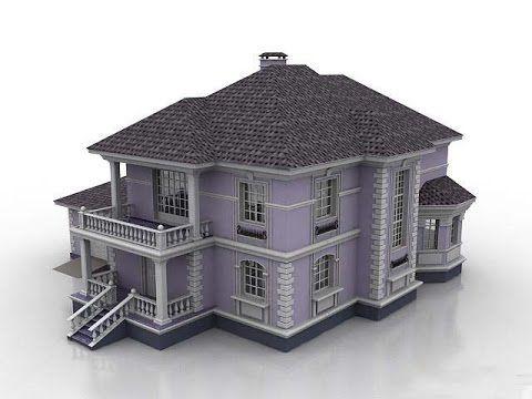 House modelling tutorial maya animation