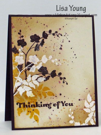 Embossing for emphasis by genesis - Cards and Paper Crafts at Splitcoaststampers