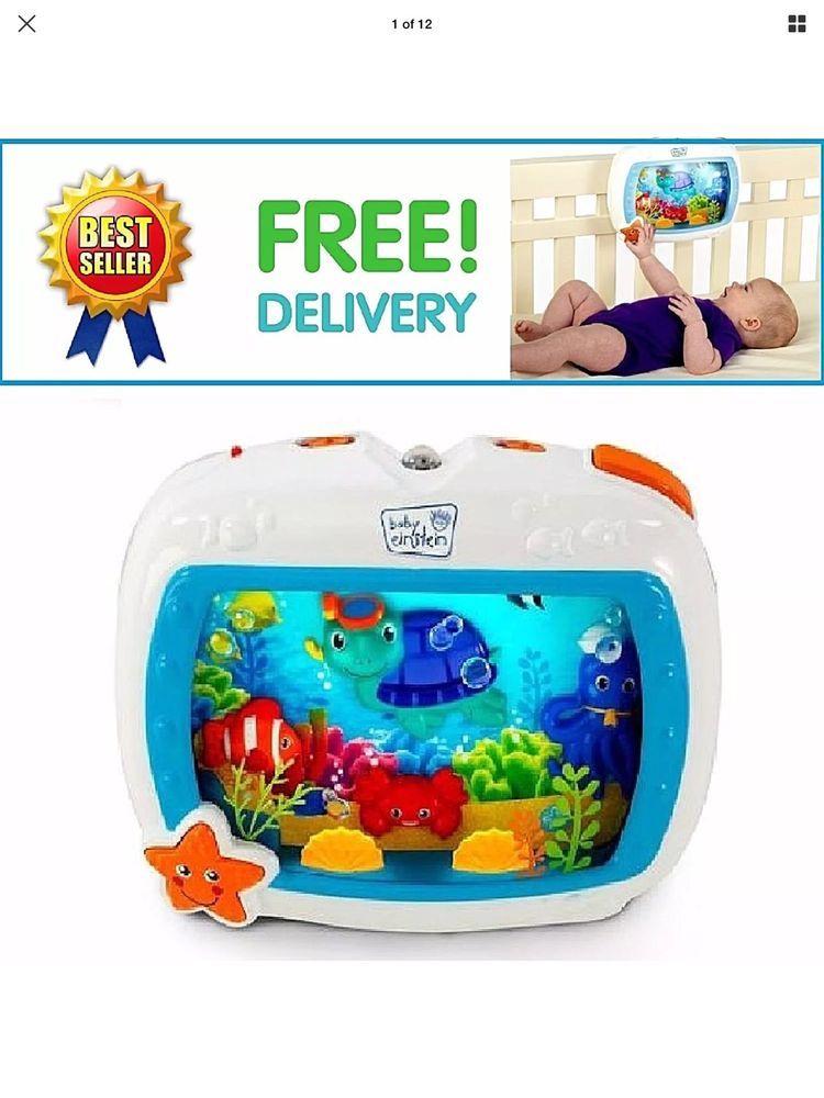 95611ae1c0f Baby Einstein Sea Dreams Soother Sleep Music Aquarium Toddler ...