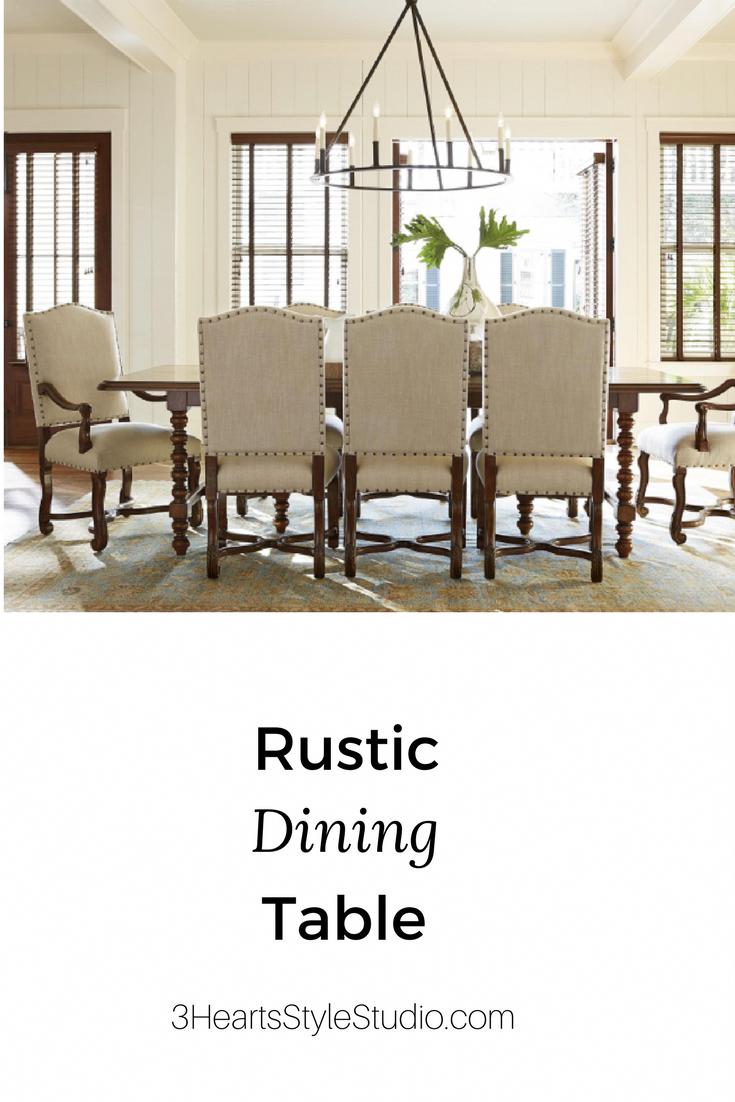 Rustic Furniture Denver Farmhouse Dining Room Table